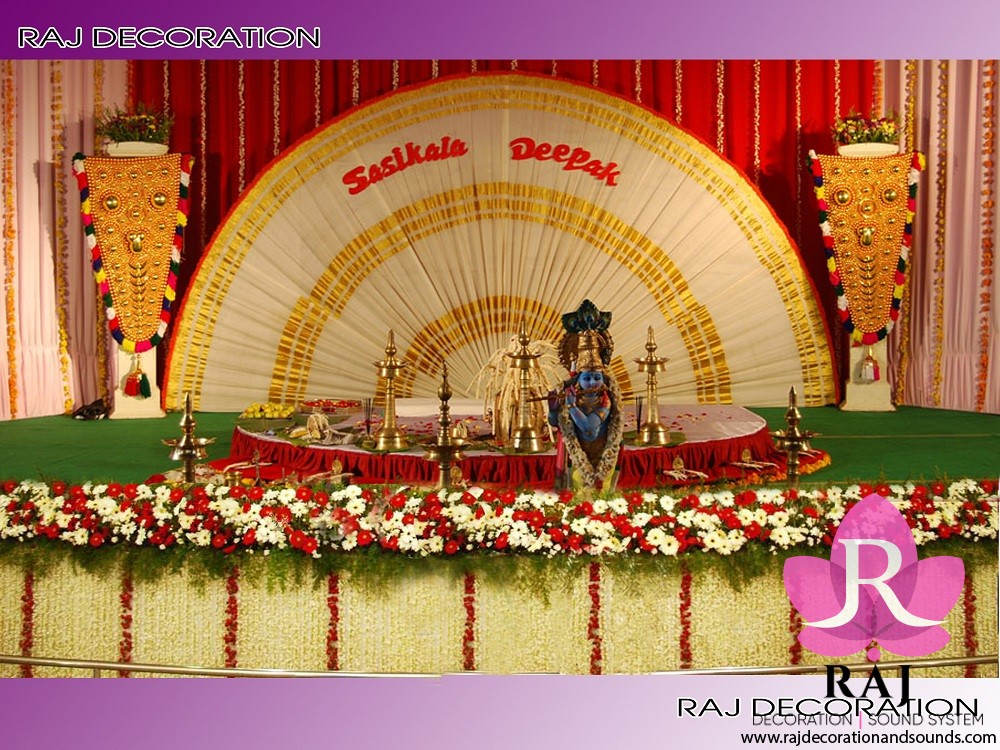 raj_decorations_Hindu Stage Decoration